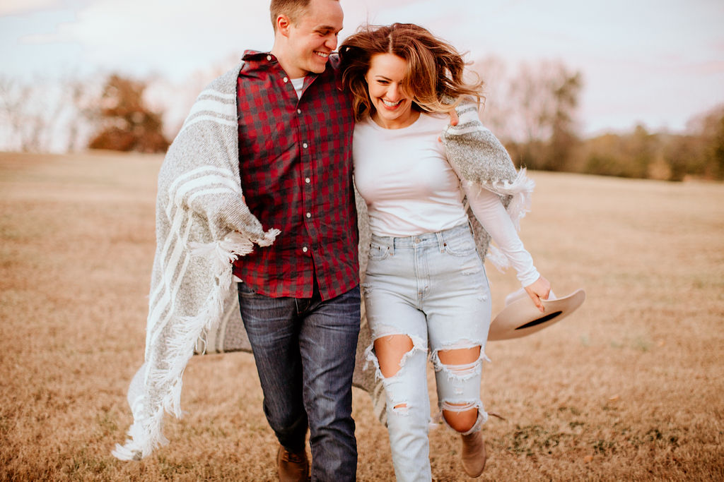 adventure couple session in gatlinburg tennessee engagement session